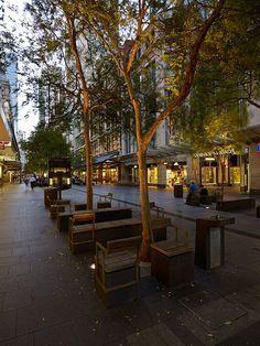 Pitt_Street_Mall-by-Tony_Caro_Architecture-13 « Landscape Architecture Works | Landezine #landscapearchitectureplaza
