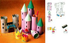 замок из рулонов от туалетной бумаги: 17 тыс изображений найдено в Яндекс.Картинках