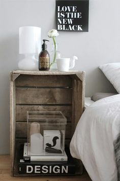 My bedroom - Compagnie de Provence, clear bof Bloomingville and mugtail