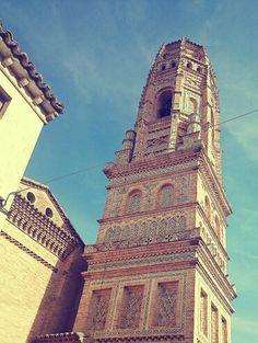 Torre árabe en Utebo.