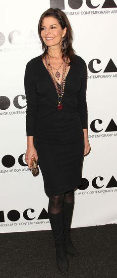 Sela Ward at a gala in Los Angeles, 2011.