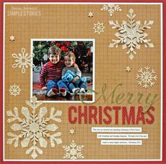 Layout: Merry Christmas
