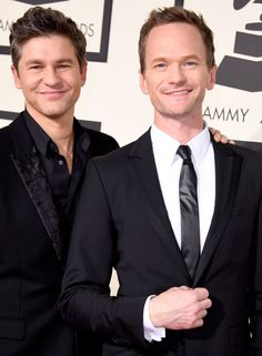 Pin for Later: These Celebrity Love Stories Are Right Out of a Fairy Tale Neil Patrick Harris and David Burtka
