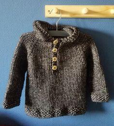 Seamless Baby Hoodie--Free Knit Pattern