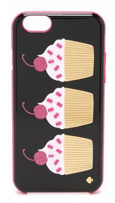 Kate Spade New York Embellished Cupcakes Iphone 6 Case - Multi Iphone Cases Bling, Iphone Cases Disney, Iphone Wallet Case, Stranger Things, Hipster Pattern, Ipad, Diy Case, Healthy Cat Treats, Video Pink