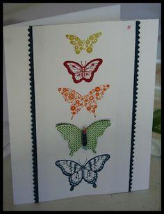 pretty butterfly card!