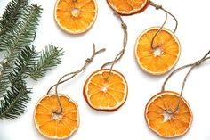 Dried Orange Slice Garland - The Most Popular Trends This Holiday Season, According To Pinterest - Photos