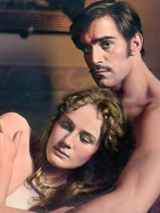 Dominique Sanda & Fabio Testi in The Garden of the Finzi - Cortinis Star System, Hollywood Celebrities, Romance Novels, Movie Stars, Actors & Actresses, Celebs, French, Film, Couples
