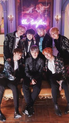BTS (WINGS)- Blood Sweat and Tears | this feels like a family photo somehow