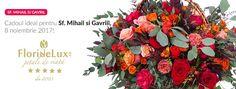 Flori speciale pentru Sfintii Mihail si Gavriil, flori online 8 noiembrie 8 Noiembrie, Sf, Floral Wreath, Wreaths, Decor, Flower Crowns, Door Wreaths, Decorating, Deco Mesh Wreaths