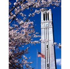 North Carolina State University Bell Tower - Raleigh, North Carolina