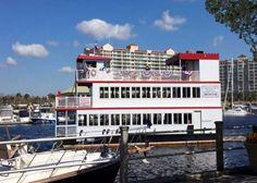Sit down, relax and enjoy the gorgeous scenery of the Grand Strand's Intracoastal Waterway when you hop aboard the Barefoot Princess Riverboat! | North Myrtle Beach | South Carolina | Click on the pin for more info.