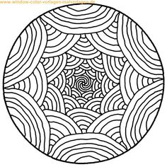 mandalas to print and color | Malvorlage | Ausmalbild | Mandala zum ausdrucken und zum ausmalen
