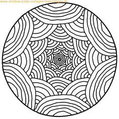 mandalas | Mandalas malvorlagen - Dibujos para colorear - IMAGIXS