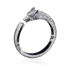 Men Biker 316L Titanium Stainless steel Lion/ wolf / tiger Head charms Bracelet Cuff Open Bangle Charming Jewlery Men's Gifts-in Chain & Link Bracelets from Jewelry & Accessories on Aliexpress.com | Alibaba Group