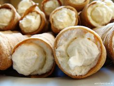 Pipes with Whipped Cream
