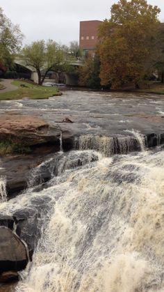 Carolina waterfall.