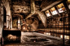 Abandoned malt factory by Illpadrino for Deviant Art.
