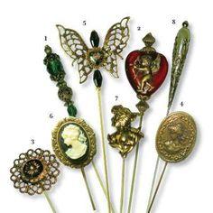 Victorian Hat Pins