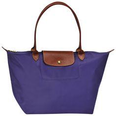Tote bag - Le Pliage - Handbags - Longchamp - Amethyst- Longchamp United-States