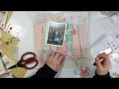 "Scrapbooking Process #87- ""HiYa Darling"" for Stash Bash - YouTube"