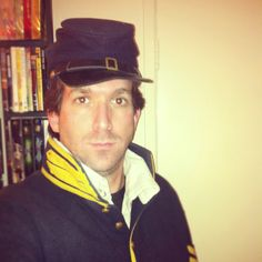 as a union soldier