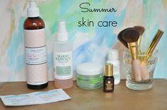 My summer skin routine