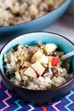 Breakfast Risotto // healthy-delicious.com