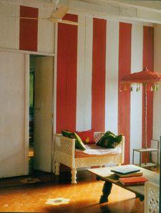 16th-century home of French designer Agathe Gerin and Burmese artist Desmond Lazaro in Goa, India