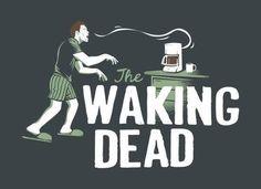 The Walking dead / Coffee art / Coffee Shop Stuff