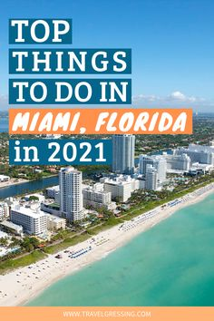 Miami, Florida is where you'll find stunning beaches, warm weather, unique multicultural neighborhoods and lively arts and nightlife scenes. Dreaming of a sunny holiday? Here are top things to do in Miami in 2021. Miami | Florida | Miami Getaway | Trip to Miami | Welcome to Miami | Miami To Do | Miami travel guide | Things to do Miami | Miami things to do | Florida Trips | Florida Vacation | Florida Things to Do | Florida | 2021 Travel | Sunny getaways | Miami Travel | Visit Florida Florida Trips, Visit Florida, Florida Vacation, Florida Travel, Miami Florida, Travel Usa, Florida Keys, Amazing Destinations, Travel Destinations