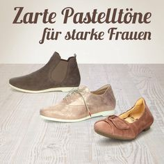 Bequeme Schuhe, Ballerina, Slipper, Stiefeletten, usw. Think, Slipper, Ballerina, Ankle, Boots, Fashion, Comfortable Shoes, Strong Women, Ladies Shoes