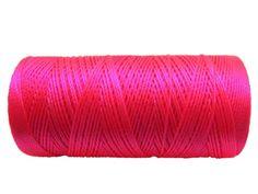 Nylon Cord Neon Pink, vähintään 4x50 jalkaa, 1,5€/50jalkaa
