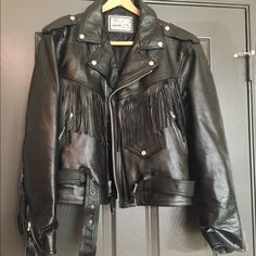 Tailored Motorcycle classic leather Jacket Renegade motorcycle leather jacket large size Jack Jackets & Coats
