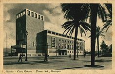 Messina. Architect Giuseppe Samonà and ing. Guido Viola, 1940.