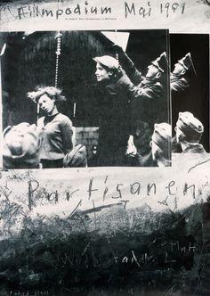 Paul Bruhwiler (designer), Filmpodium - Partisanen, 1991.