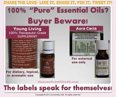 buyer beware - MOST essential oils on the market today are ADULTERATED!!!