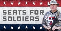 Proud to be a sponsor for the Allen Americans.  Especially when they do cool things like seats for soldiers!  If you haven't already, go check them out!