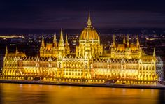 Can anybody tell me why it looks weird on On my screen it looks ok, but uploaded here the center of the building looks out of focus! Out Of Focus, Budapest, Night Vision, Hungary, Barcelona Cathedral, Building, Jewel, Instagram Posts, Travel