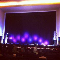 A pocos minutos de iniciar en nuestra primera presentación del musical navideño #Noe