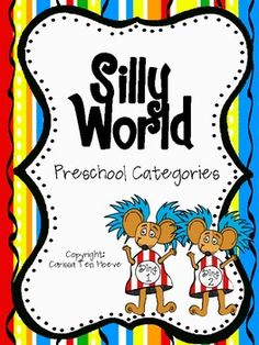 Silly World Preschool Categories