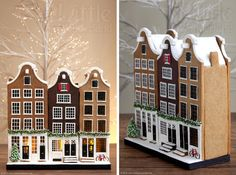Dutch gingerbread houses                                                                                                                                                                                 More
