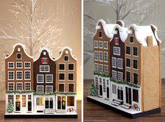 Dutch gingerbread houses