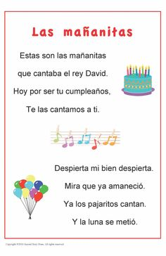 • Build vocabulary and cultural awareness with this set of four traditional Spanish songs and rhymes. • The 11 x 17 inch posters are laminated for easy display in your classroom. • Digital versions of