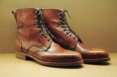 Vass cordovan boots