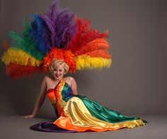 Rainbow Pride Dress by Renaissance Couture, via Flickr