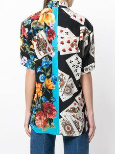Dolce & Gabbana プリント シルクシャツ