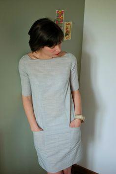 robe Ludivine imaginée et dessinée par Cécile de Made by 6, puis matérialisée par Géraldine de la République du Chiffon.
