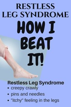 Millions of people suffer from leg cramping and restless leg syndrome (RLS), especially at night. Certain forms of discomfort are a natural by-product of exercise, the main symptom of the cramping and RLS is often caused by diet, daily physical activities, stress, and even the types of clothing or shoes that are worn. Making small changes, using supplements, meditation, and being attentive to diet, Relief from Restless Leg Syndrome Symptoms can be easily achieved. #RLS