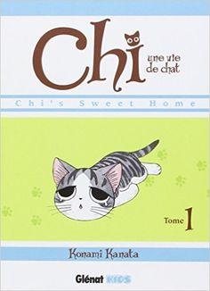 A PARTIR DE 8-9 ANS Manga, mésaventures d'un chat, peu de textes.